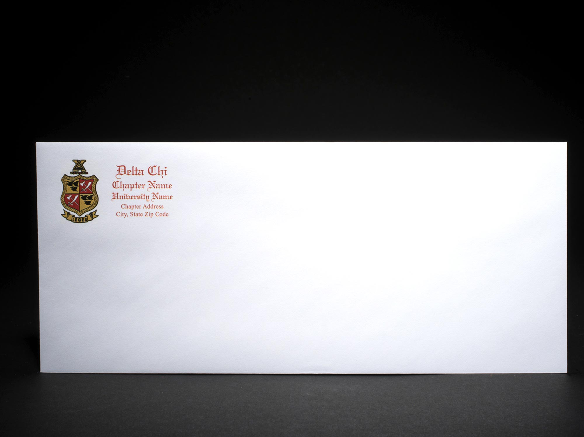 Business Size Envelopes Delta Chi