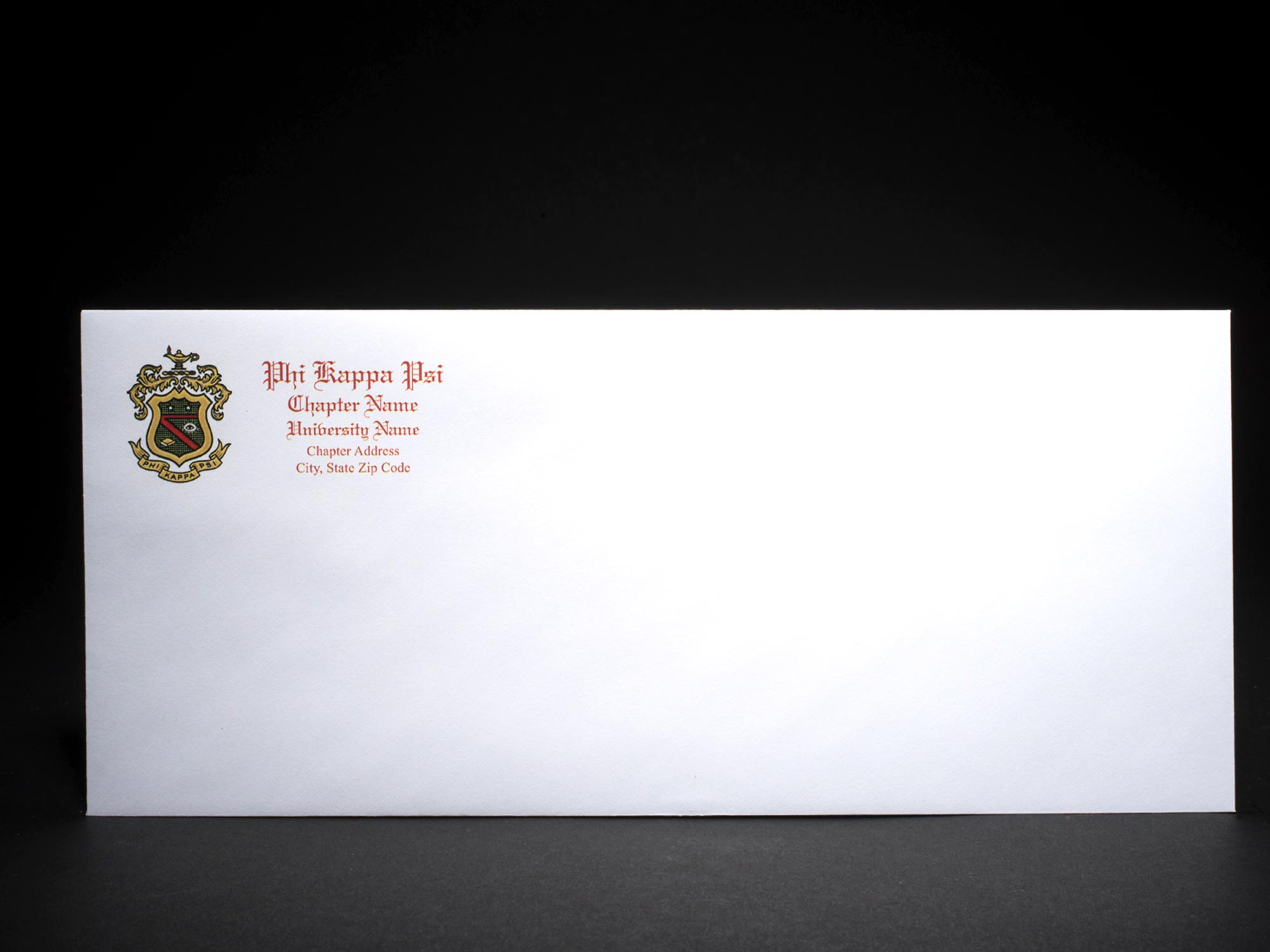 Business Size Envelopes Phi Kappa Psi
