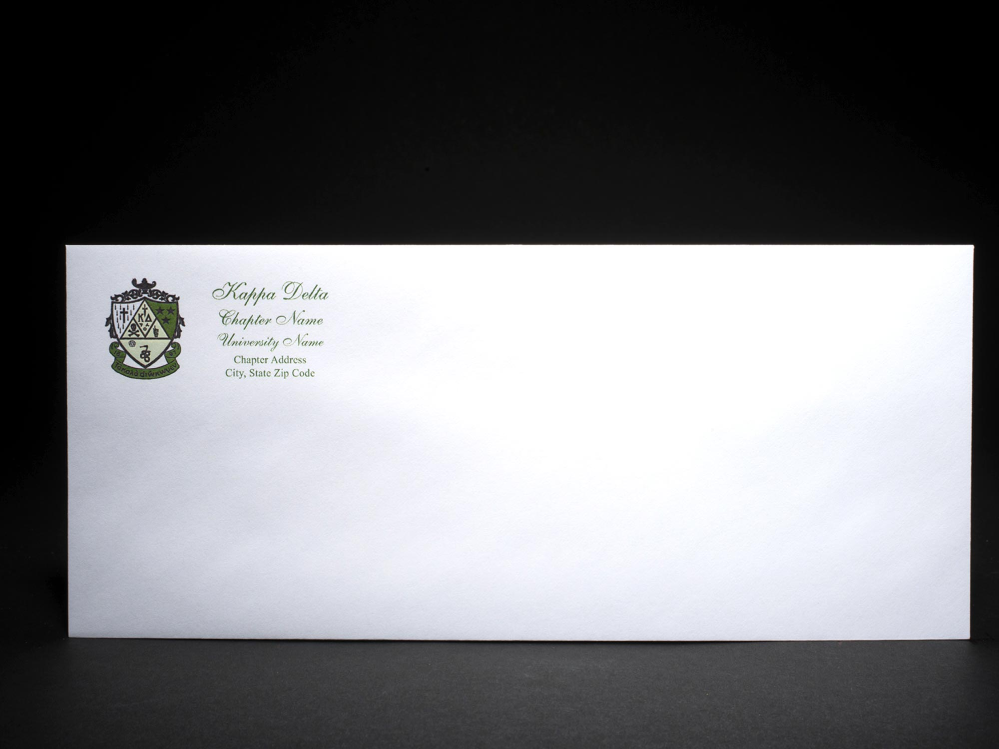 Business Size Envelopes Kappa Delta